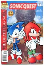 Sonic Quest The Death Egg Saga #3 1996- Sega- Archie Comics VF- - $20.18