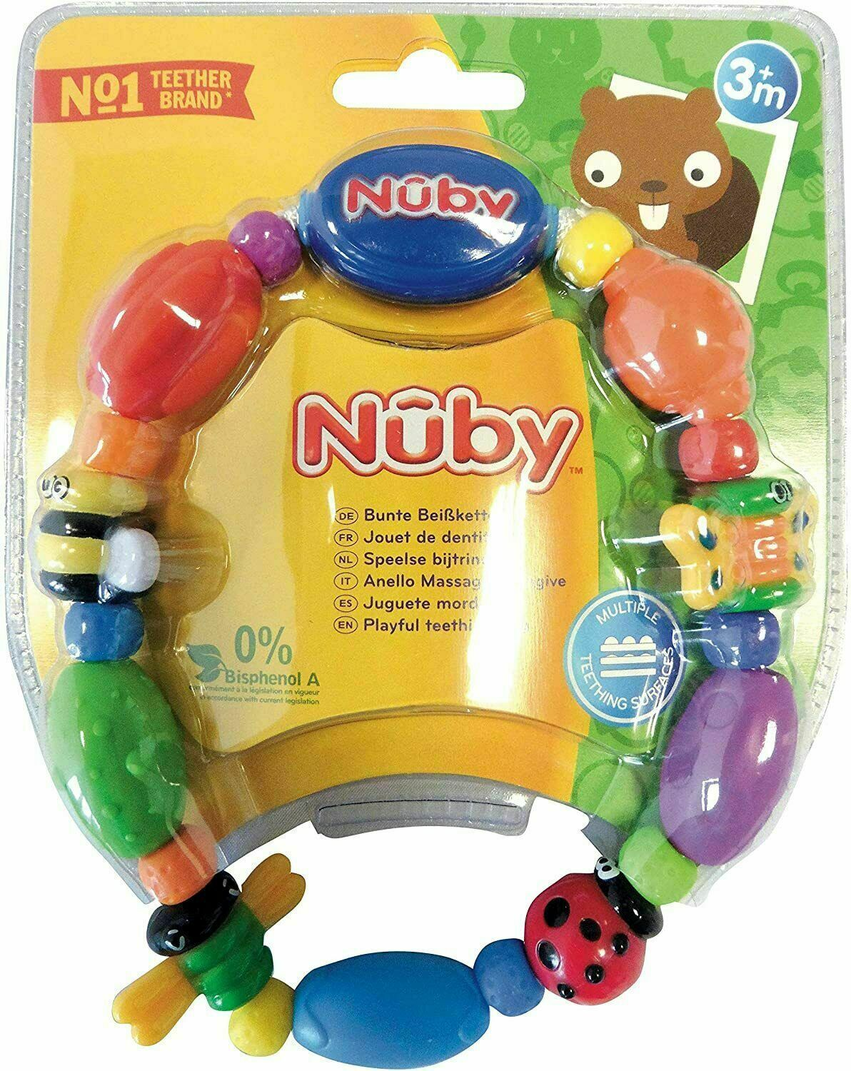 Primary image for Nuby Teether Bug a Loop