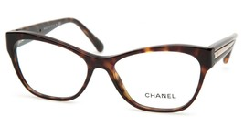 New Chanel 3307 c.714 Havana Eyeglasses Frame 55-16-140 B40mm Italy - $240.09