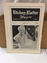 Vintage Kitchen Klatter Magazine local Recipes Shenandoah Iowa February ... - $9.99