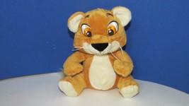 Garanimals orange brown tan plush baby lion cub toy stuffed animal Wal mart - $4.99
