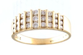 Women's 14kt Yellow Gold Cluster ring - $299.00