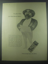 1954 Gillette Razor Ad - No jokes from you clean-shaving tenors - $14.99