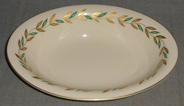 Castleton China ALBERTA PATTERN Oval Vegetable or Serving Bowl MADE IN USA - $29.69