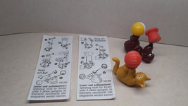 Kinder - 1998 Verspielte Haustiere - complete set + 2 papers - surprise eggs - $2.50
