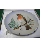 1973 GOEBEL Plate Wildlife Series No.1 ROBIN w/Box.......FREE POSTAGE USA - $17.89