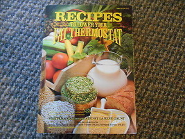 1989 Book Recipes to lower your Fat Thermostat & Neuropsychology.. La Re... - $9.99