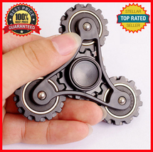 Gear Chain Fidget Spinner Gear Linkage EDC Hand Spiner Metal Toy EDC Kids Adult - $12.95