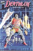 Deathlok Comic Book Mini Series #4 Marvel Comics 1990 NEAR MINT NEW UNREAD - $4.99