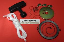 HONDA 79-84 ATC110 Recoil Starter Spring, Rope, Handle & Pull Start Rebu... - $46.95