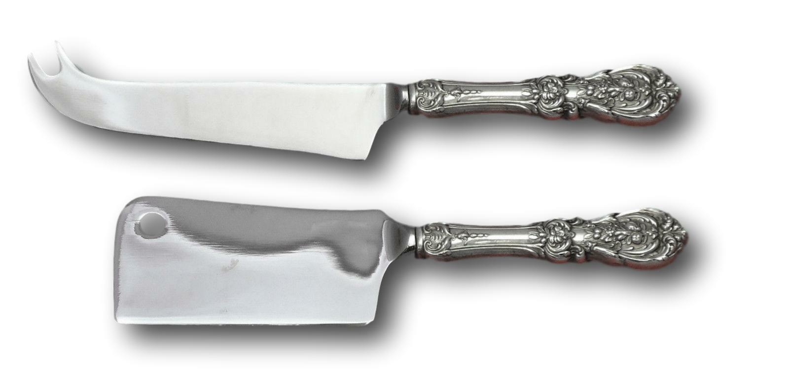 Primary image for Francis I by Reed & Barton Sterling Silver Cheese Serving Set 2pc HHWS Custom