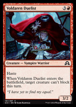 Magic The Gathering-Shadows Over Innistrad-VOLDAREN Duelist - $0.05