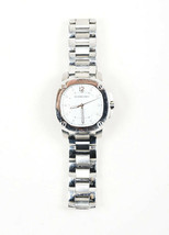 """Burberry Stainless Steel Diamond Mother of Pearl Crystal """"Britain"""" Watch - $310.52 CAD"""