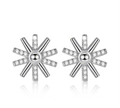 Fashion 925 Sterling Silver studs earrings  for women Jewelry - $11.59