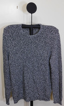 Calvin Klein Black White Combo Knit Crew Neck Sweater - XL - $29.95