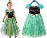 Kids Anna Coronation Costume, Anna Coronation Dress Halloween Costume for Girls