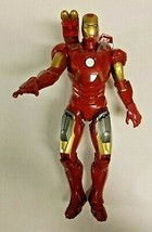 "2012 Marvel Iron Man 10"" Action Figure Talking Sounds by Hasbro Missile ... - $11.99"