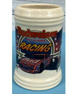 Budweiser Racing Beer Stein 1992 First Series Bill Elliott Junior Johnso... - $14.85