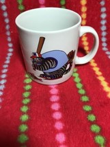 B. Kliban  - CAT Playing Baseball Cup Mug Gift Creations Inc. Coffee Mug - $9.89