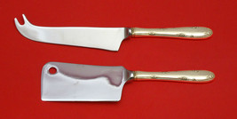 Madeira by Towle Sterling Silver Cheese Server Serving Set 2pc HHWS  Custom Made - $110.30