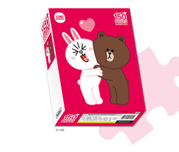 LINE Friends Hug Jigsaw Puzzle 150 pcs Character CONY Heart Hobby Toy Ki... - $349,55 MXN