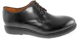 Bostonian Cahal Plain Round Toe Men's Black Leather Oxford Shoes Sz 10 - $79.99
