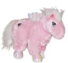 Pegasus Webkinz HM068 White & Pink with Wings Stuffed Animal No Code - $5.93