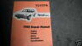 1988 Toyota Tercel Wagon Service Repair Shop Workshop Manual OEM Factory  - $11.83