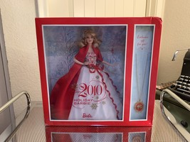 2010 Special Edition Holiday Barbie with Necklace, Blonde (MIB/NRFB) - $180.95
