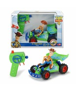 Dickie Toys 3154001 - Buggy Woody RC Film Toys Story 4 With Command - $262.16