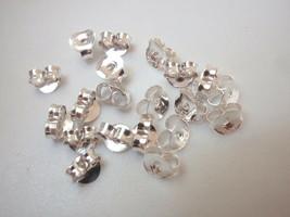 Ten Pairs Stud Backings 925 Sterling Silver Corona Sun Jewelry  - $9.90