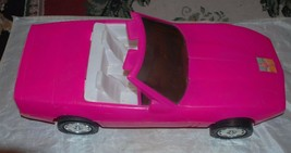 Barbie Pink Convertible Car American Plastic Toys Inc. - $32.71