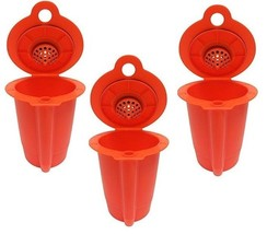 3 Reusable K-Carafe Filter For Multi Cup Coffee Brewing KEURIG 2.0 Caraf... - $11.99
