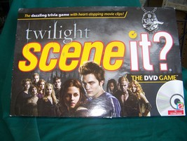 "Twilight Scene It Game ""Complete"" - $10.00"