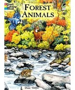 Forest Animals Coloring Book (Dover Nature Coloring Book) [Paperback] [J... - $1.32