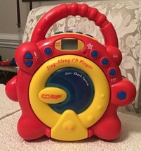 Sing Along CD Player by Constructive Playthings - READ ALL INCLUDED NOTES - $22.80