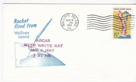 ARCAS WITH WHITE RAT ROCKET FIRED FROM WALLOPS ISLAND VA AUGUST 9 1967 - $2.98