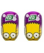 The Simpson Tic Tacs Bart Simpson Limited Edition Bubble Gum Flavor 200 ... - $12.11
