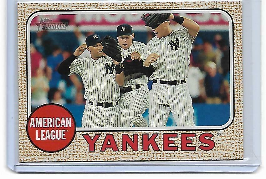 2017 Topps Heritage Aaron Judge RC Rookie New York Yankees Team Card #197