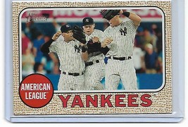 2017 Topps Heritage Aaron Judge RC Rookie New York Yankees Team Card #197 - $2.56