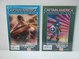 Captain America Theater Of War - 3 Book In All Free Shipping! - £15.09 GBP