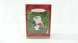 Hallmark QX8271 2000 Cool Character Snowman Ornament - $9.99