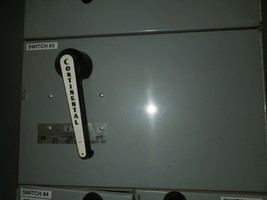 Continental FQV326 600A 3p 240V Fusible Panelboard Switch Used - $3,200.00
