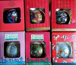 Disney Christmas Ornaments Santa's Workshop Christmas to Remember + - $29.99