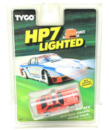 1990 Tyco HP7 Lighted Chassis Racing Car #6907 Slot Fire Chief Ford Must... - $79.46