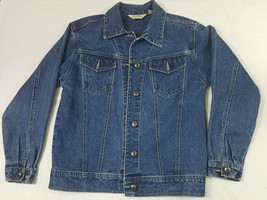 St. John's Bay Size Small Womens Denim Jacket Jeans Long Sleeve Horse Em... - €12,61 EUR
