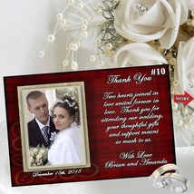 Wedding Thank You Cards Personalized 10 ea with Envelopes Custom Made - $13.50
