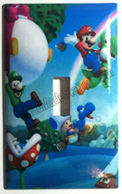 Super Mario Bro Light Switch Power Duplex Outlet Wall Plate Cover Home Decor