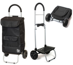Trolley Dolly Insulated Trolly Dolly Black Lightweight Collapsible Troll... - €38,16 EUR
