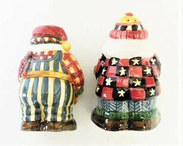 Debbie Mum Sakura Earthenware Woodland Santa Salt & Pepper Shakers image 4